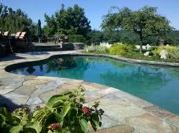 delighful stone pool decks bluestone deck s and decorating