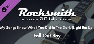 Fall Out Boy Light It Up Rocksmith 2014 U2013 Fall Out Boy U201cmy Song Know What You Did In The
