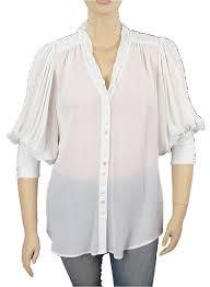 rayon blouse nanette lepore white shirt rayon blouse button top