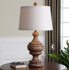 Uttermost Lamps On Sale Uttermost Via Lata Solid Wood Table Lamp Solid Wood Base Finished