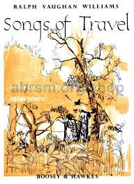 travel songs images Ralph vaughan williams songs of travel high voice jpg