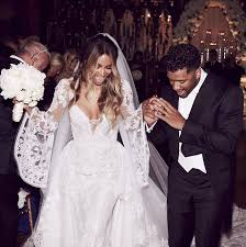 Couture Wedding Dresses Ciara U0027s Wedding Dress Details Instyle Com