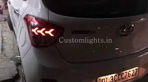 lamborghini headlights i10 grand projector headlights and lamborghini style led taillamps