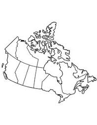 free kids coloring pages canadian map kids printable activities
