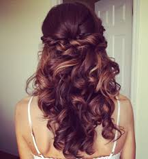 half up half down quiff hairstyles 86 half up half down bridesmaid hairstyles stylish ideas for brides