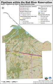 Trans Canada Highway Map by Bad River Band Adds Voice To Concerns About Aging Line 5 Pipeline