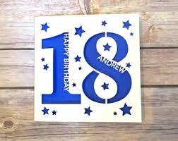 18th birthday card etsy