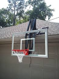 Adjustable Basketball Hoop Wall Mount Roof Master Roof Mount Basketball System From Dunrite Playgrounds