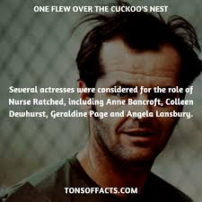 several actresses were considered for the role of nurse ratched