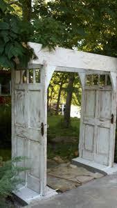 best 25 door arbor ideas on pinterest diy cottage doors garage arbor made from old doors