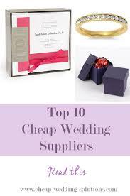 cheap wedding supplies the best cheap wedding supplies