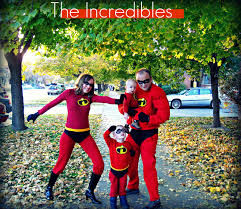 halloween costume for family handmade costumes diy incredibles costume tutorial for the whole