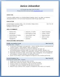 Sample Resume Objectives No Experience by Assistant Medical Assistant Resume With No Experience