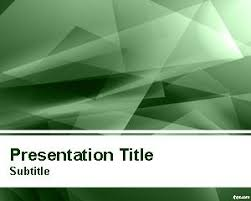 templates powerpoint abstract abstract green lights powerpoint template ppt template parttyyyy