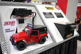 kraken jeep sema 2014 painless performance shows off chevy jeep electronics