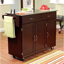 kitchen island with stainless steel top target marketing systems large kitchen cart with stainless