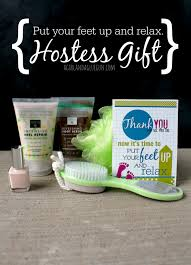 put your feet up and relax gift and printable hostess present