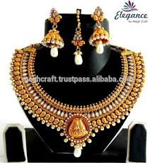 south indian one gram jewellery lakshmi coin jewellery wholesale