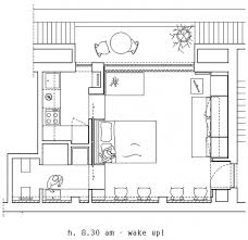 30 Sqm by Living Area With Great Flexibility In A Tiny 28 Sqm Apartment