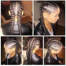 braids hairstlyes for black women with thinning edges french braids pinteres