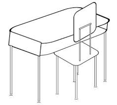Free Desk Chair Free Clip Art Of Student Desk Chair And Set Clip Art Library