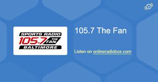105 7 the fan listen live 105 7 the fan listen live baltimore united states online radio box