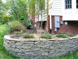 Backyard Retaining Wall Ideas Retaining Wall Ideas Garden Ideas With Retaining Wall Cheap
