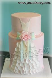bridal shower cakes wedding dress bridal shower cake j a m cakery
