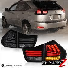 lexus rx 400h black edition 04 09 lexus rx350 rx330 black drl headlight tinted