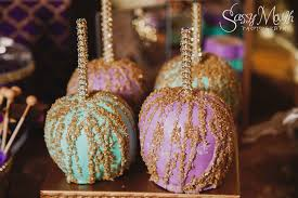 sweet candy apple table arabian nights aladdin wedding