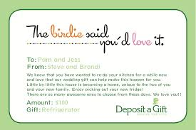 wedding gift money amount frequently asked questions deposit a gift