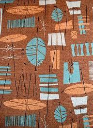 Modern Retro Upholstery Fabric Historic Fabric Tiki Barkcloth Old House Web I Would Change The