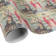 asian wrapping paper vintage asian wrapping paper zazzle
