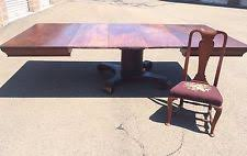 Antique Pedestal Dining Table Empire Antique Dining Sets Ebay