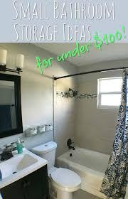 Ideas For Small Bathroom Storage Bathroom Storage Ideas For Under 100