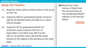 ph volume of titrant acid base titration o r ppt video online download