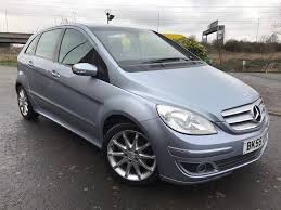 mercedes b class b170 manual 2005 excellent example and spec