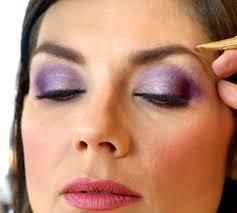 How To Color In Eyebrows Purple Eye Makeup U2014 Liberté