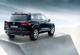 volkswagen special editions vw touareg edition x to be launched in russia