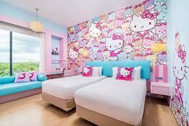 jen u0027s kitty deluxe themed room hotel jen johor