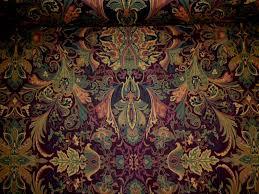 lakota paisley color aubergine fabric