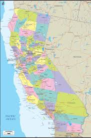 Santa Barbara California Map Detailed Clear Large Map Of California Ezilon Maps