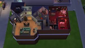 seinfeld apartment floor plan seinfeld s apartment recreated in sims 4 neogaf