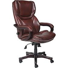 Serta Executive Big Tall Office Chair Eco conscious Bonded Leather