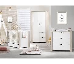 sauthon chambre bebe tiroir lit bébé 70 x 140 cm tipee blanc sauthon
