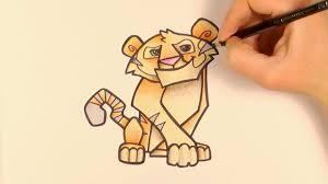 colour cartoon tiger animal jam zooshii style