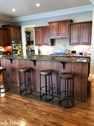 shiplap kitchen backsplash with cabinets shiplap island and wood accents kitchen before and
