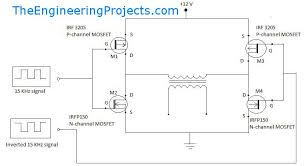 pure sine wave inverter design with code the engineering projects