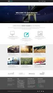 free business web template psd css author inside free business