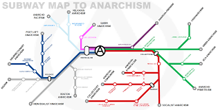Subway Map Boston by Subway Map To Anarchism Anarchism